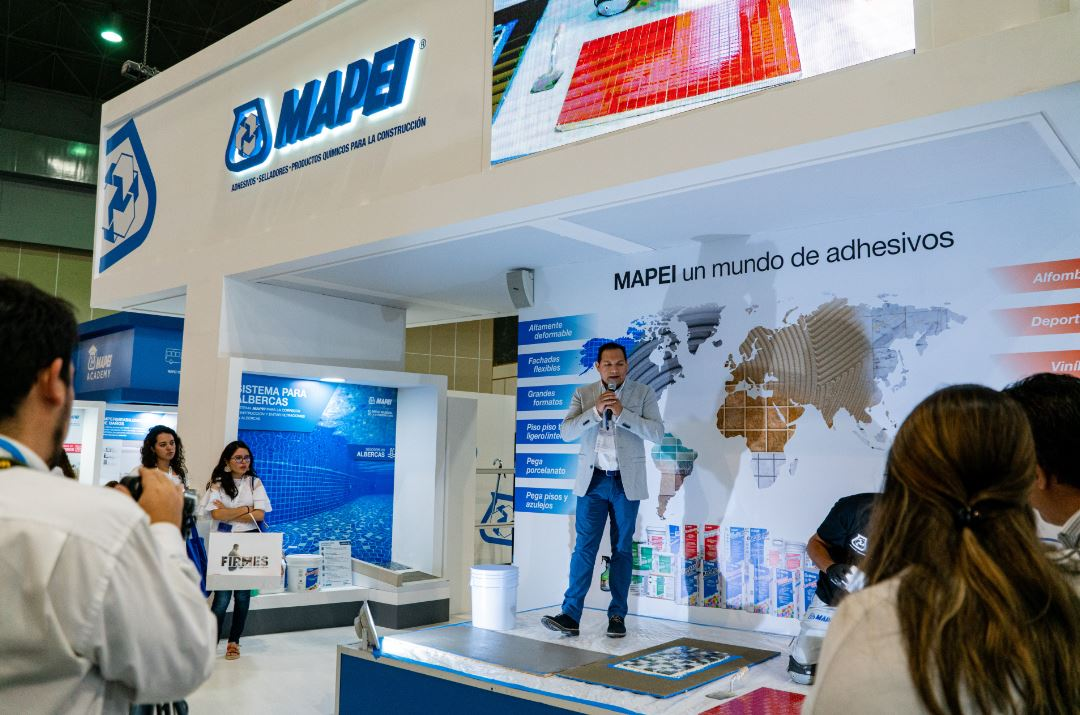 Mapei en Expo CIHAC