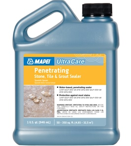 UltraCare Penetrating Stone,Tile & Grout Sealer