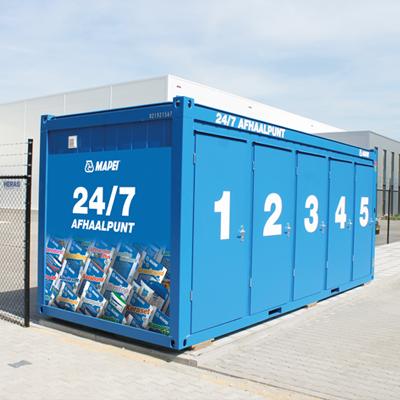 Optimale service met onze 24/7 container
