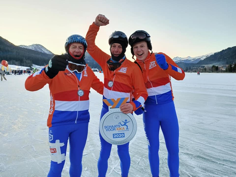 Mapei trotse sponsor van 'Schaatsen voor KiKa'