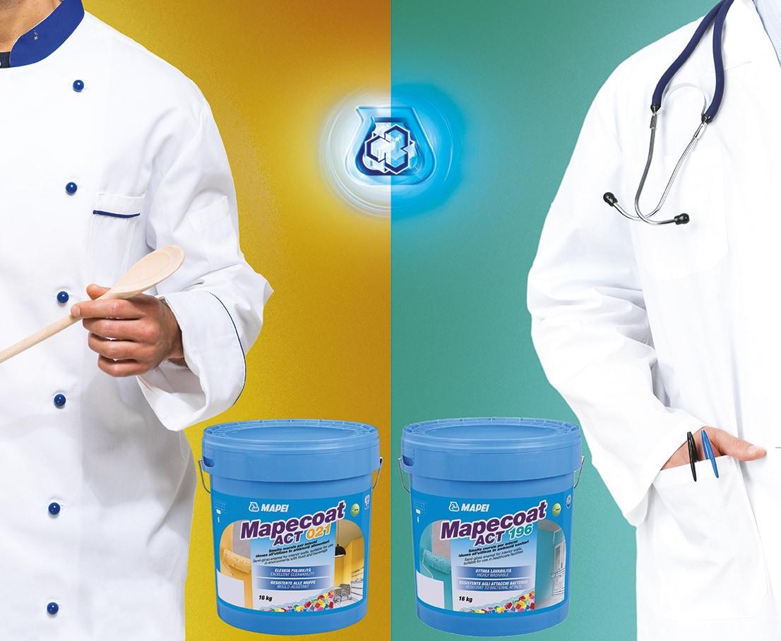 Speciale coatings voor extra hygiëne voor de gezondheidszorg en voedselindustrie