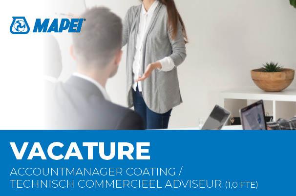 Vacature - Accountmanager Coating / Technisch Commercieel Adviseur