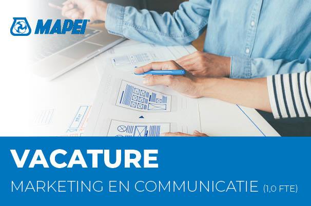 Vacature: Medewerker Marketing & Communicatie