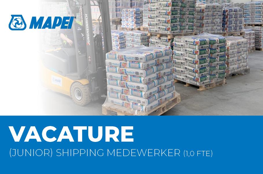 Vacature - (Junior) Shipping medewerker (1 FTE)