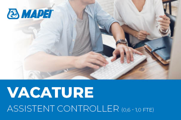 Vacature - Assistent Controller (0,6 – 1,0 FTE)