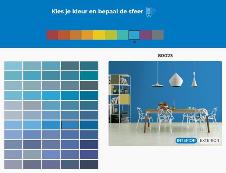 Mapei_muurverven_kleurentool