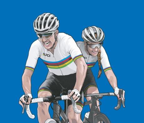 Mapei hoofdpartner van de 100ste editie WK wielrennen 2021 in België