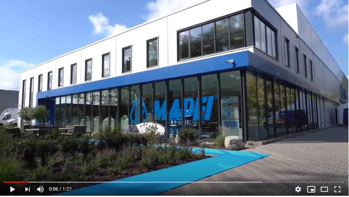 Home - Mapei opening nieuw kantoor Apeldoorn