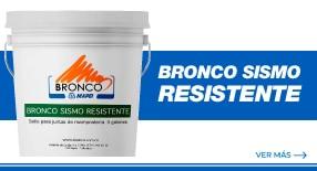 Bronco Sismo Resistente - Selladores elásticos y adhesivos