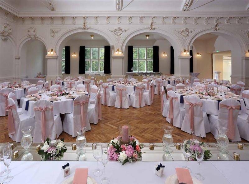 Uspořádání sálu pro svatby