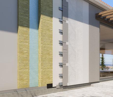 Fleksibelt og solidt facadesystem