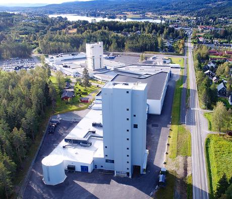 Produktionsanlægget i Sagstua, Norge lukket tirsdag d. 1. oktober 10-17