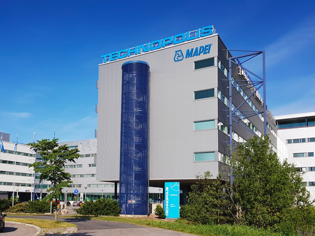 Photo of Mapei Oy headquarters