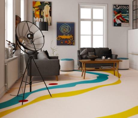 Mapefloor Comfort -lattiajärjestelmä - Yksi kokonaisuus. Monia mahdollisuuksia.