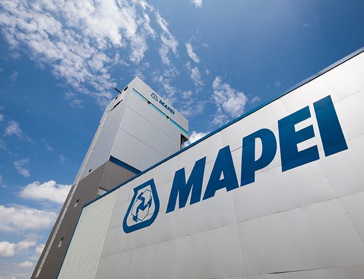 MAPEI en France : une des premières filiales du Groupe
