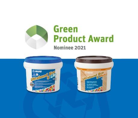Zwei MAPEI Parkettklebstoffe für den Green Product Award nominiert
