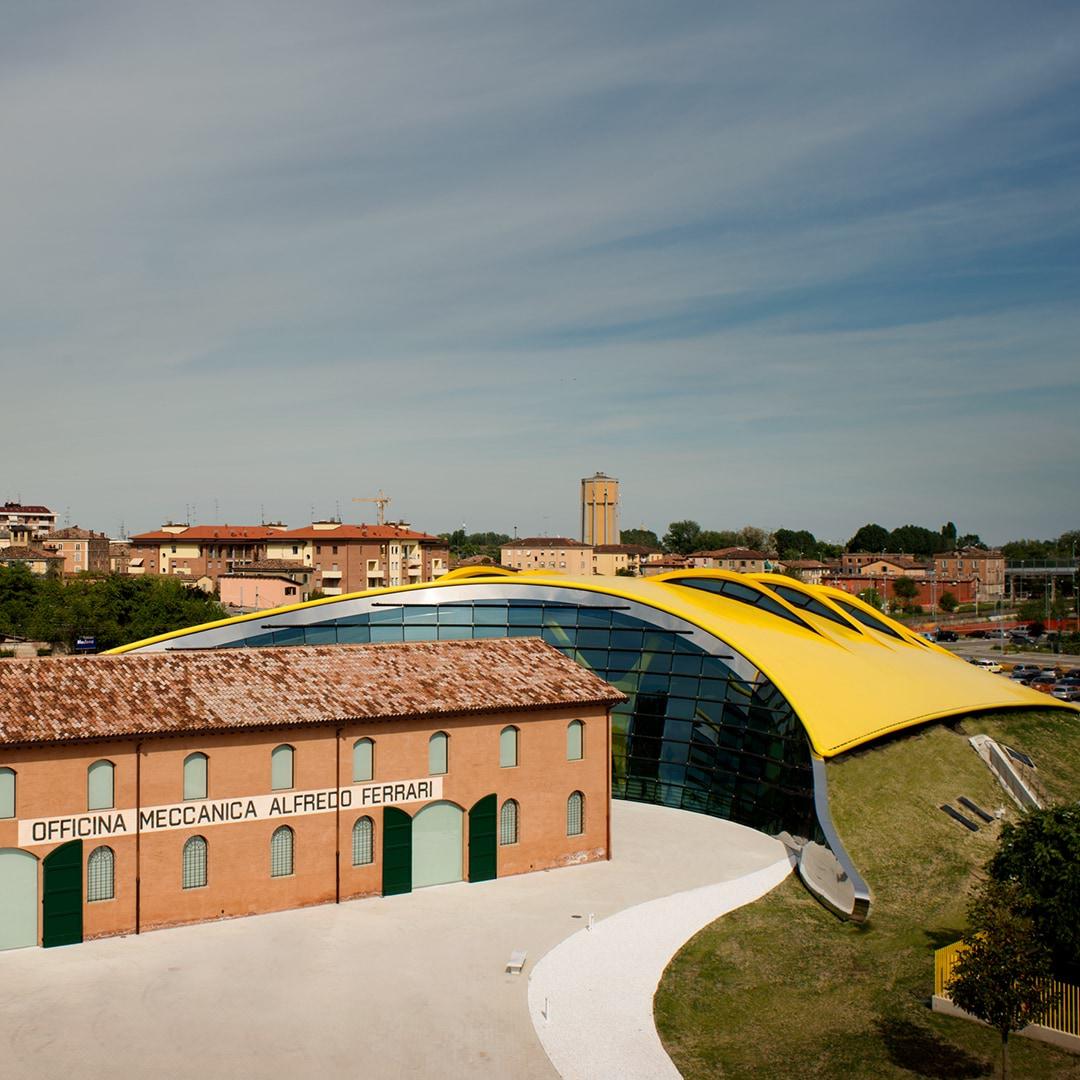 Casa Enzo Ferrari Bild 02