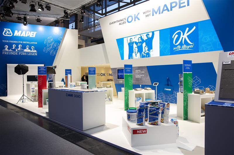 MAPEI auf der BAU 2019: In München ganz nah am Kunden