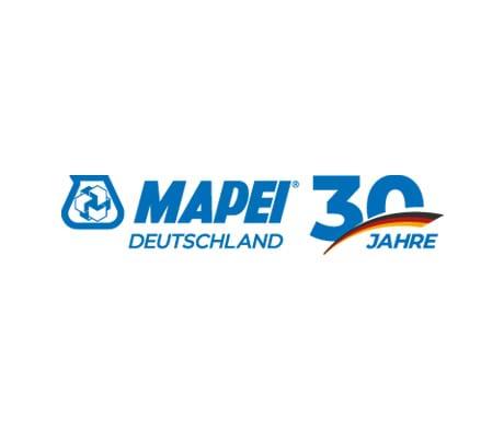 30 Jahre MAPEI GmbH Deutschland: Zeitstrahl illustriert Meilensteine der Firmengeschichte einer der grössten Tochtergesellschaften des Konzerns