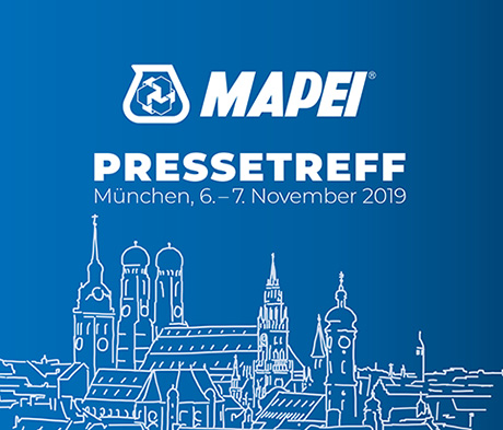 MAPEI Pressetreff 2019 in München