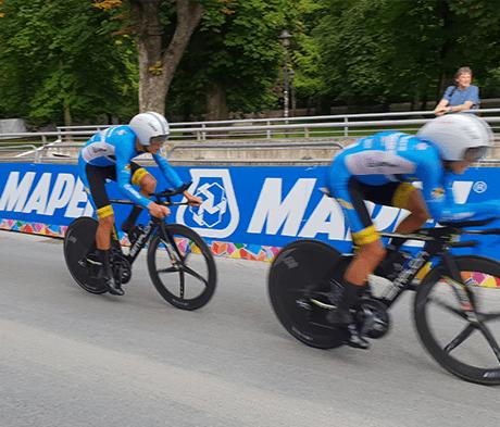 MAPEI ist stolzer Sponsor der UCI-Straßen-Weltmeisterschaften