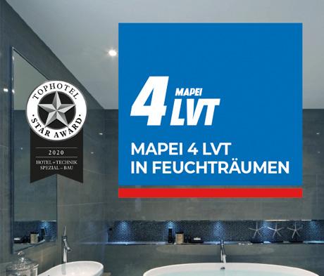 MAPEI gewinnt beim Top Hotel Star Award 2020