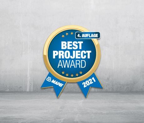 MAPEI Best Project Award 2021: Wir wollen die Besten der Besten!
