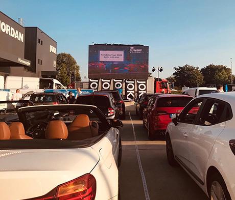 MAPEI Academy Autokino Tour 2020