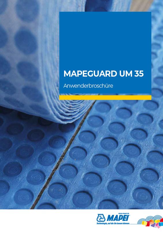 MAPEI MAPEGUARD UM 35 Broschüre