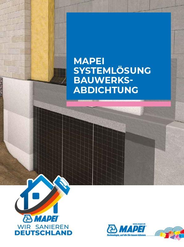 MAPEI Systemlösung Bauwerksabdichtung