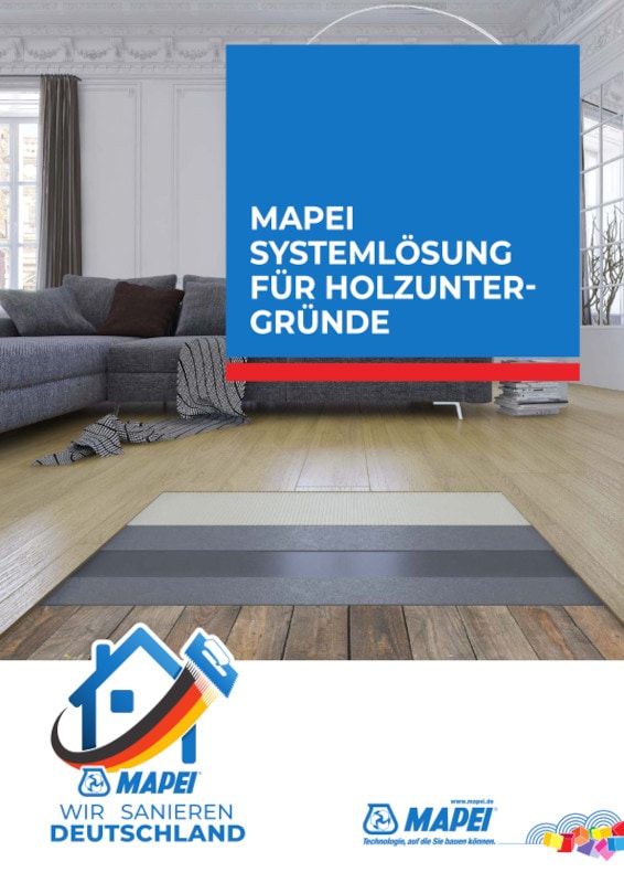MAPEI Systemlösung für Holzuntergründe