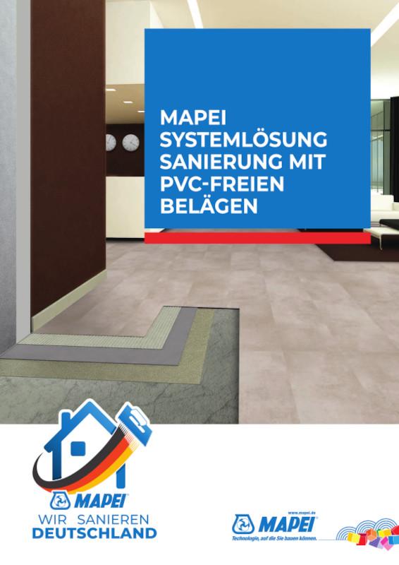 MAPEI Systemlösung PVC freie Sanierung