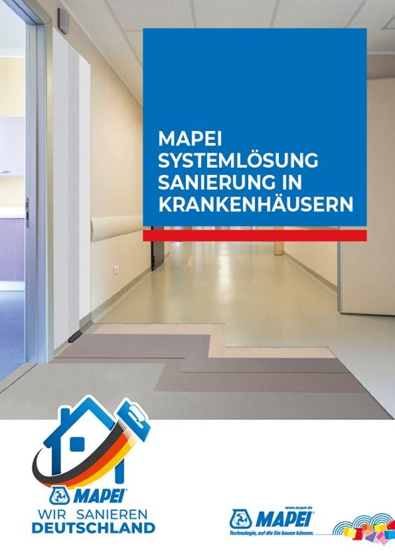MAPEI Systemlösung Sanierung in Krankenhäusern