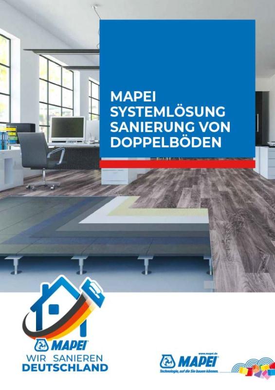 MAPEI Systemlösung Sanierung von Doppelböden