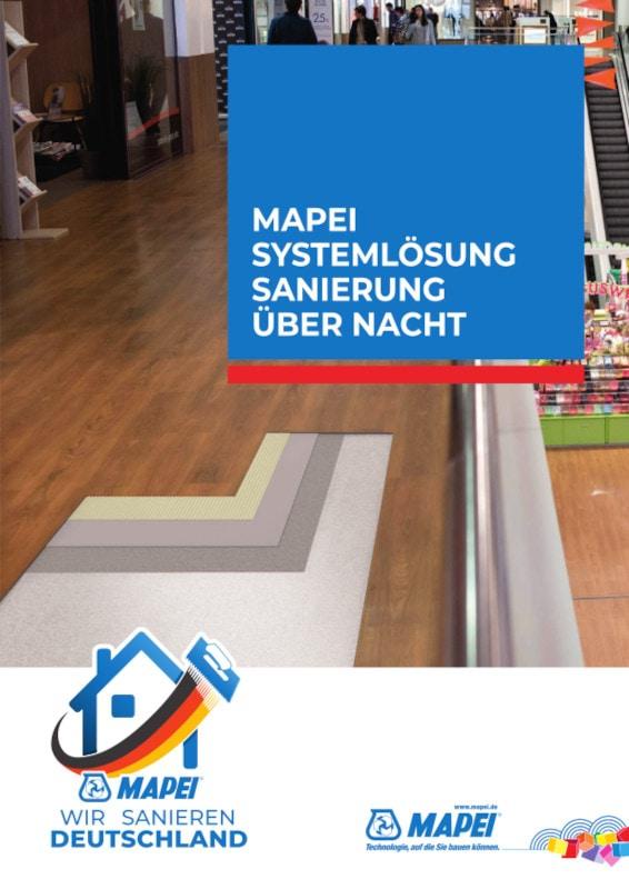 MAPEI Systemlösung Schnelle Renovierung über Nacht