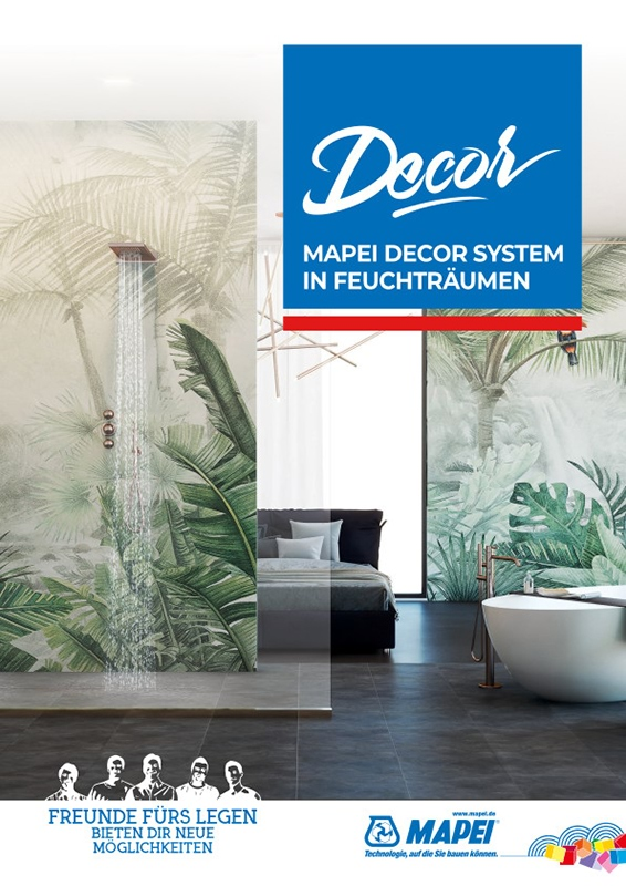 MAPEI Decor Shower System