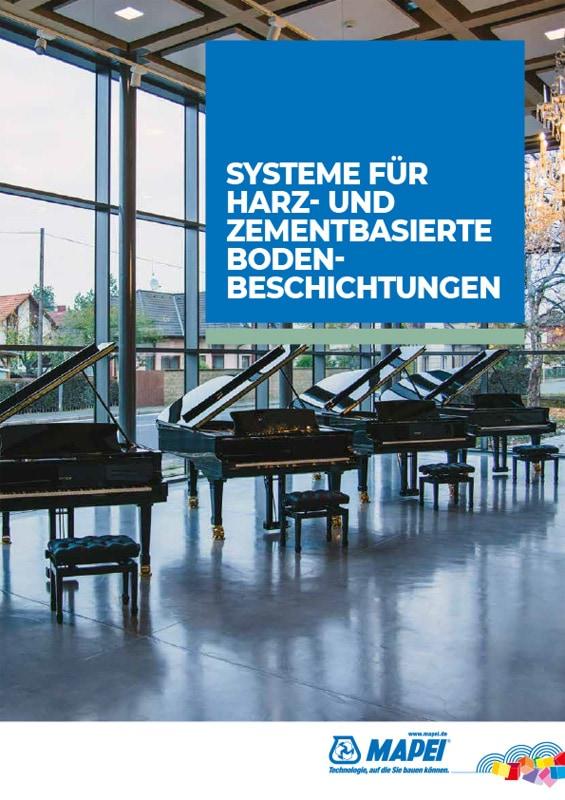 MAPEI Systeme für Harz- und zementbasierte Bodenbeschichtungen
