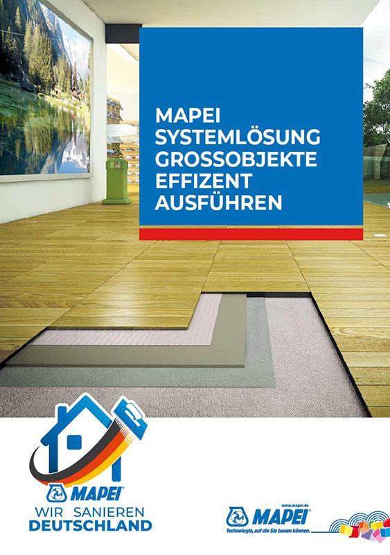 MAPEI Systemlösung Grossobjekte effizient ausführen