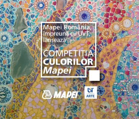 Mapei România impreuna cu UVT Facultatea de Arte si Design lanseaza 'Competitia culorilor Mapei'