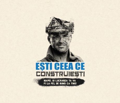 """MAPEI România încurajează construcțiile de calitate prin campania națională """"Ești ceea ce construiești"""""""