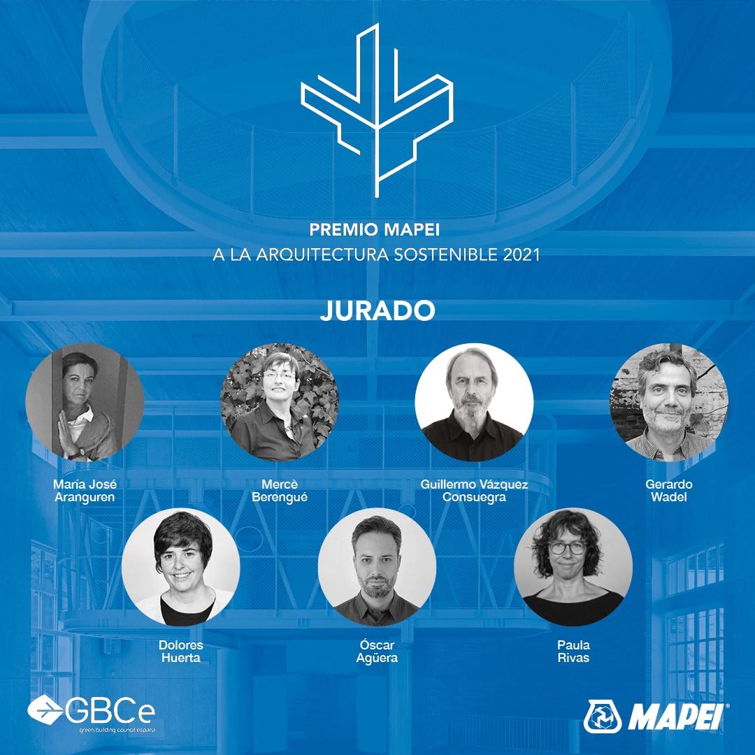 ¿Conoces a los miembros del jurado del Premio Mapei a la arquitectura sostenible 2021?