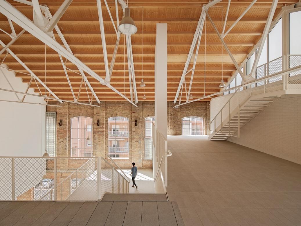 El proyecto Fabra & Coats de Roldán + Berengué Arquitectos, ganador del Premio Mapei 2020