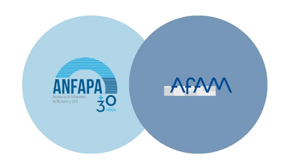 Unión de las dos asociaciones de fabricantes de Mortero y SATE en ANFAPA