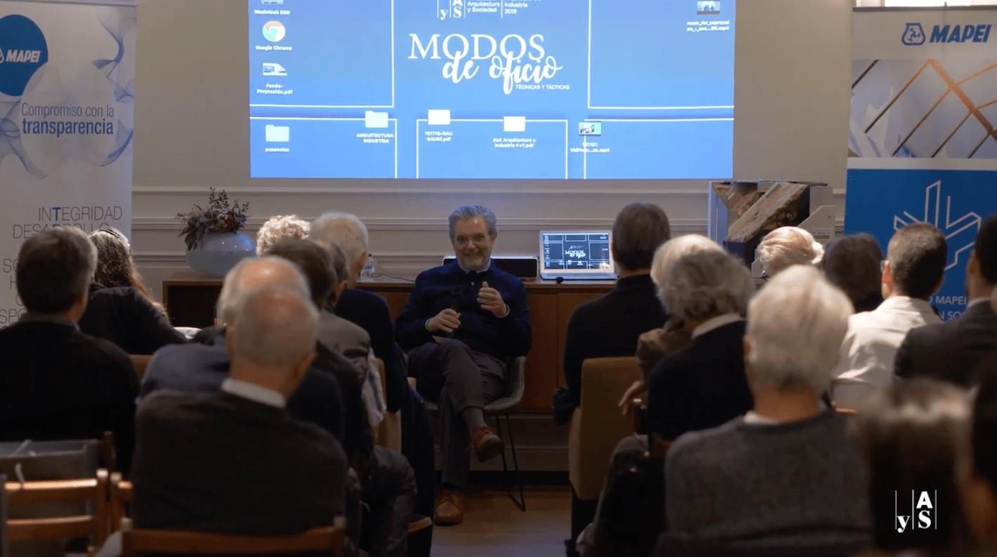 Vídeo de la segunda jornada de Arquitectura e Industria 2019 Modos de oficio