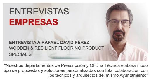 Entrevista a Rafael David Pérez Wooden & Resilient Flooring Product Specialist de Mapei