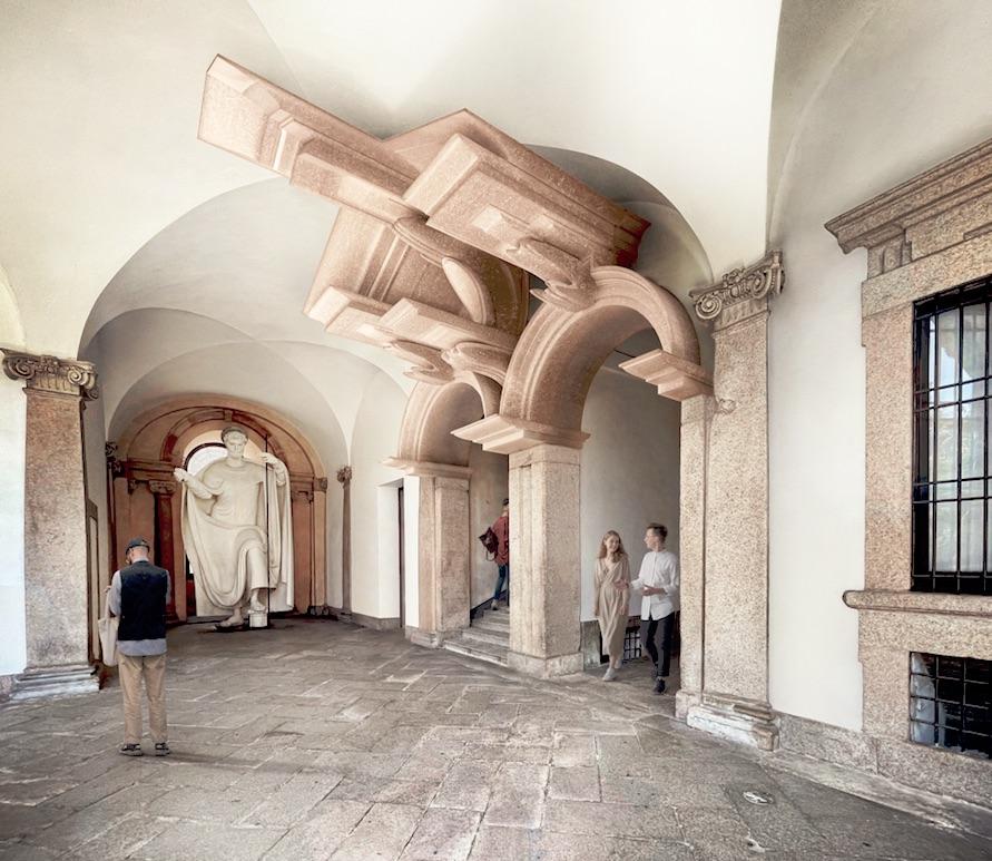 """""""Arquitectura Aumentada"""" de Cino y Chiara Zucchi, una obra inspirada en Mapei"""