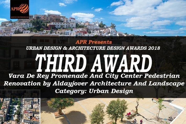 La reforma y conversión en zona peatonal de Vara de Rey recibe el premio Green Good Design