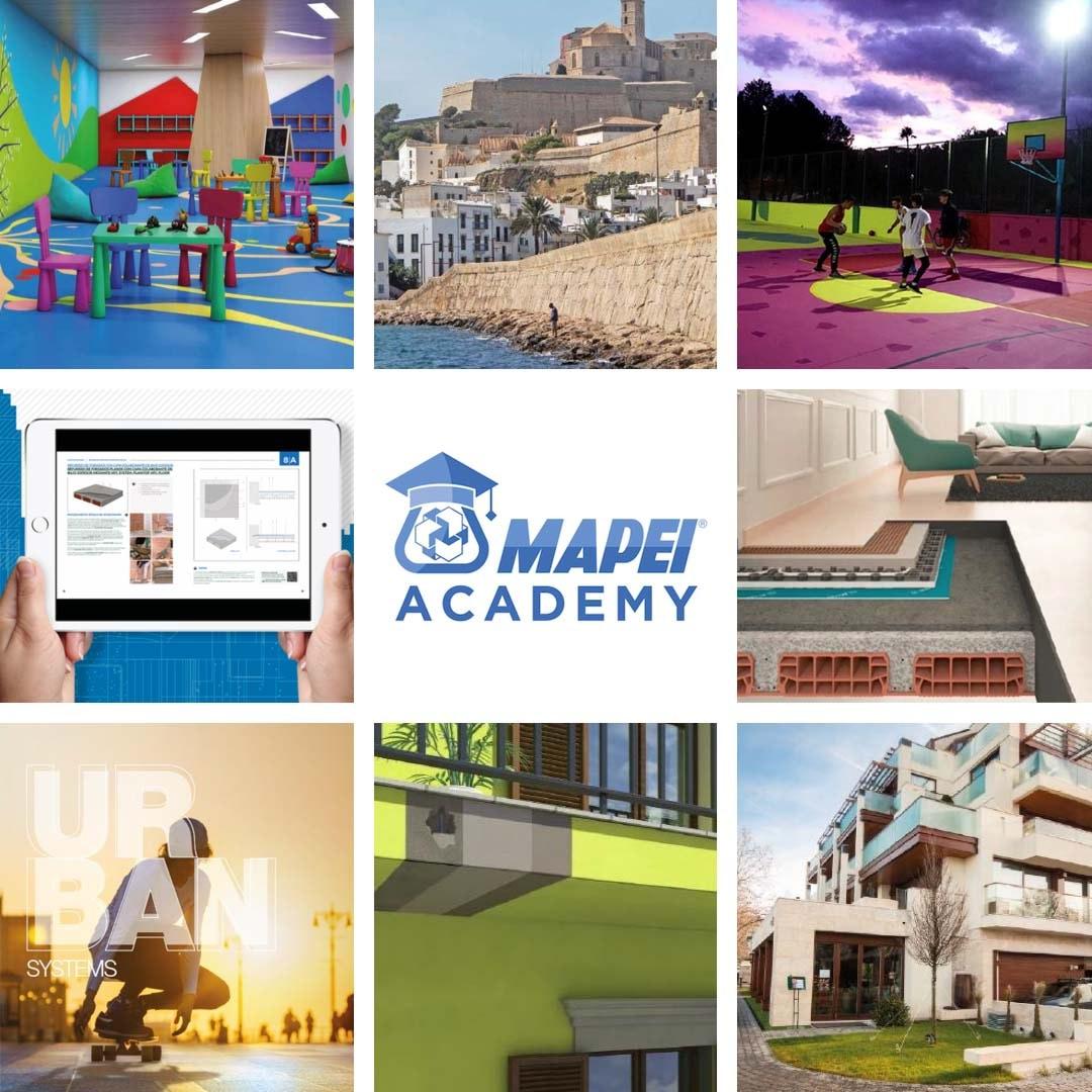 Toda la información técnica de las seminarios online de Mapei