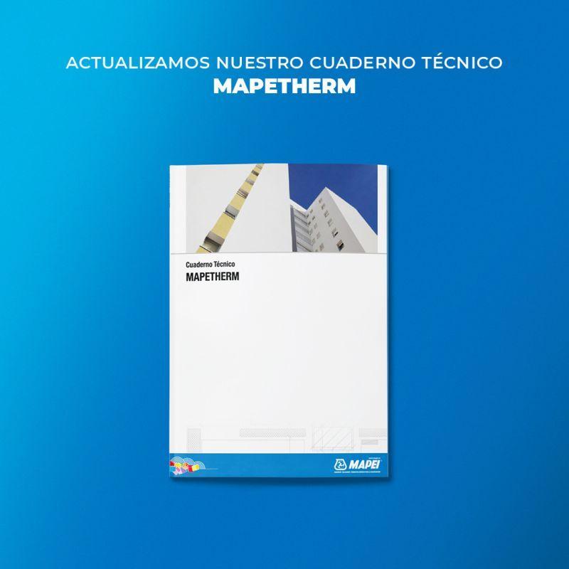 Actualización del cuaderno técnico sobre aislamiento térmico de Mapei