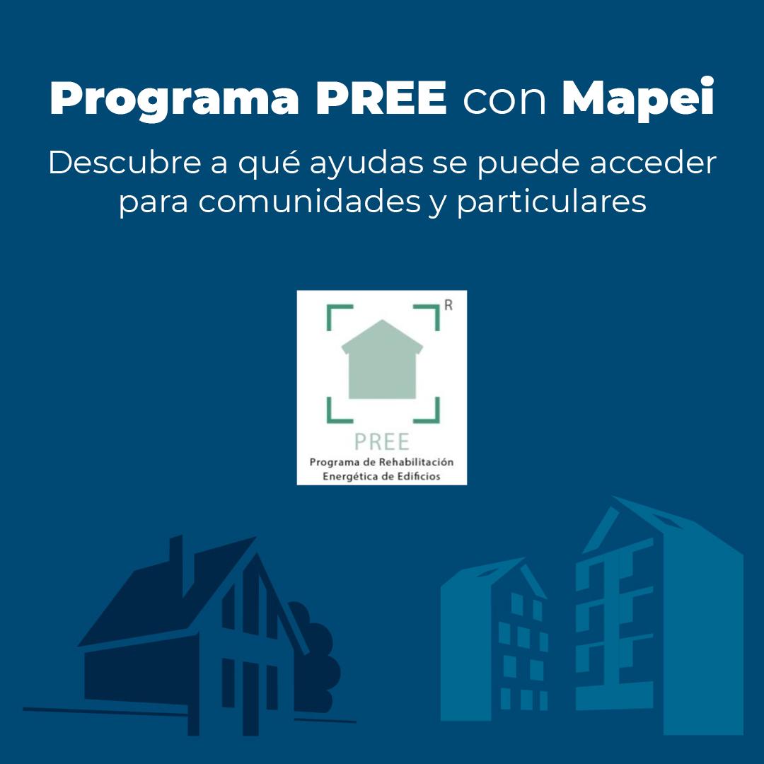Accede al Programa para la Rehabilitación Energética de Edificios con Mapei